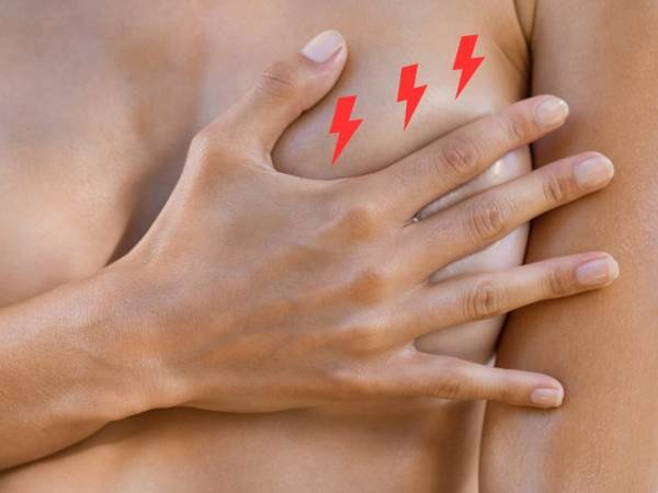 bolovi u grudima poslije menstruacije