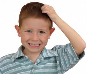svrab glave kod dece