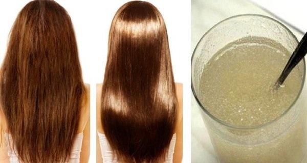 zelatin za kosu