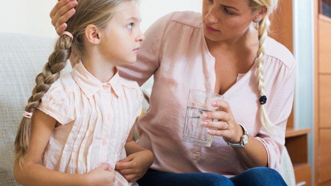 kiselina u zelucu kod dece